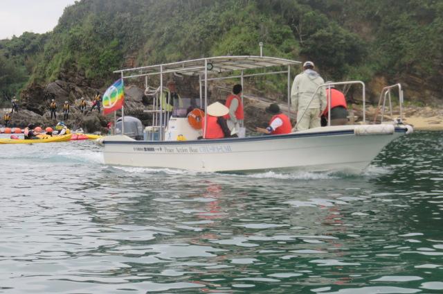 沖縄辺野古船上からの写真02