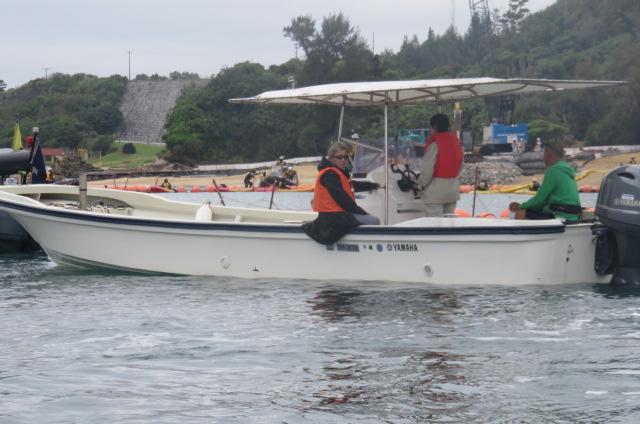 沖縄辺野古船上からの写真04