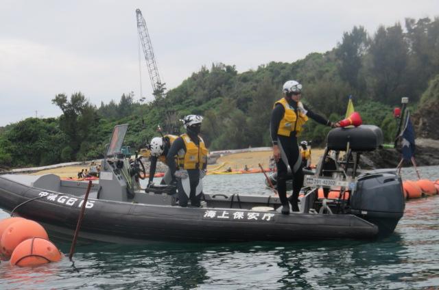 沖縄辺野古船上からの写真06