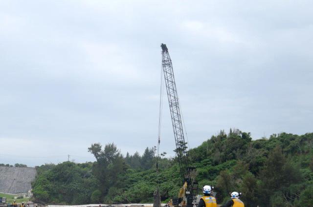 沖縄辺野古船上からの写真12