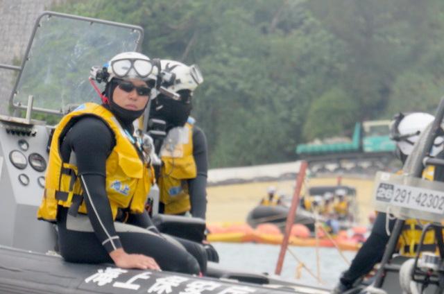 沖縄辺野古船上からの写真16
