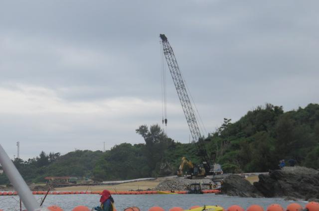 沖縄辺野古船上からの写真18